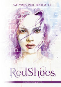 red shoes front cover